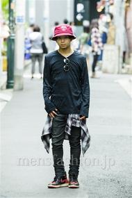 ファッションコーディネート原宿・表参道 2014年09月 佐藤貴龍さん