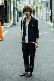 ファッションコーディネート原宿・表参道 2014年09月 大木 光さん
