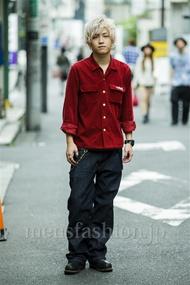 ファッションコーディネート原宿・表参道 2014年09月 渋井僚太さん