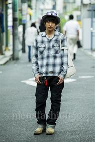 ファッションコーディネート原宿・表参道 2014年09月 木村奏也さん