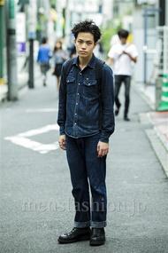 ファッションコーディネート原宿・表参道 2014年09月 増渕雄一さん