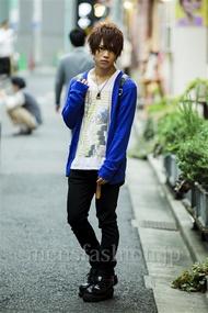 ファッションコーディネート原宿・表参道 2014年09月 夏川登志郎さん