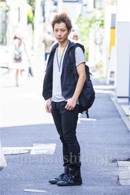 ファッションコーディネート原宿・表参道 2014年09月 新田快広さん