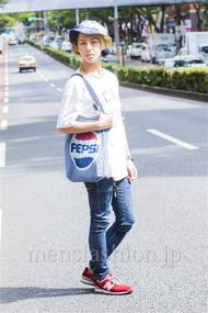 ファッションコーディネート原宿・表参道 2014年09月 守谷裕貴さん