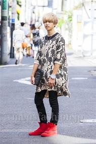ファッションコーディネート原宿・表参道 2014年09月 内藤 魁さん