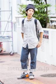 ファッションコーディネート原宿・表参道 2014年09月 桃原大気さん