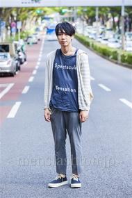 ファッションコーディネート原宿・表参道 2014年09月 宮下佳佑さん