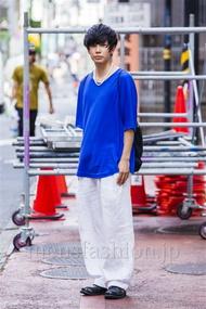 ファッションコーディネート原宿・表参道 2014年09月 糸川耀士郎さん