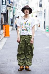 ファッションコーディネート原宿・表参道 2014年09月 岩井哲朗さん
