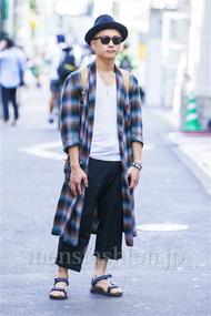 ファッションコーディネート原宿・表参道 2014年09月 kentさん