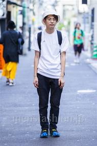 ファッションコーディネート原宿・表参道 2014年09月 斎藤章平さん
