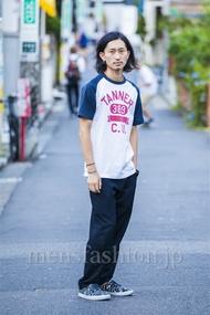 ファッションコーディネート原宿・表参道 2014年09月 松金祐大さん