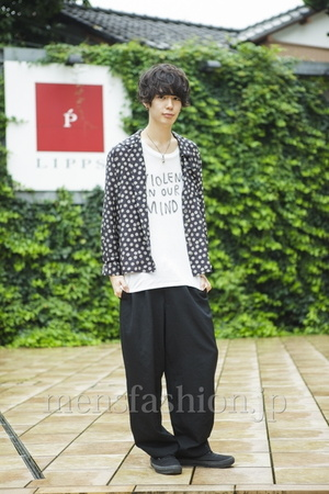 ファッションコーディネート 2014年09月 中村涼太さん