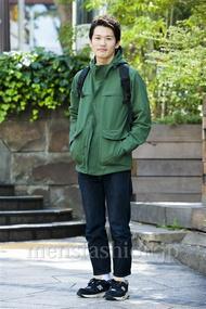 ファッションコーディネート原宿・表参道 2014年10月 ワタベショウマさん