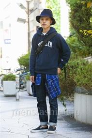 ファッションコーディネート原宿・表参道 2014年10月 青山清志さん