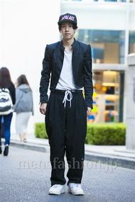 ファッションコーディネート原宿・表参道 2014年10月 Yoshiharu Matsuoさん