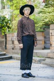 ファッションコーディネート原宿・表参道 2014年10月 けんしょうさん