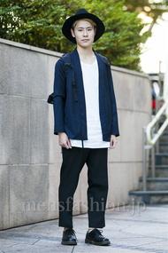ファッションコーディネート原宿・表参道 2014年10月 いしこーさん