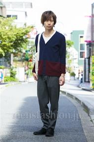 ファッションコーディネート原宿・表参道 2014年10月 大木 光さん