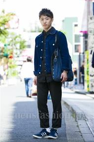 ファッションコーディネート原宿・表参道 2014年10月 RIKUさん