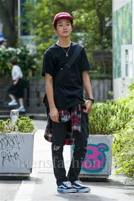 ファッションコーディネート原宿・表参道 2014年10月 熊澤晃希さん