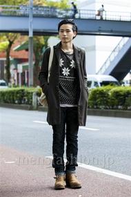 ファッションコーディネート原宿・表参道 2014年10月 ダイチさん