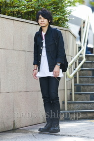 ファッションコーディネート原宿・表参道 2014年10月 黒山慶司さん