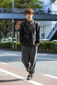 ファッションコーディネート原宿・表参道 2014年10月 安田賢司さん