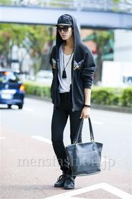 ファッションコーディネート原宿・表参道 2014年10月 Kuroさん