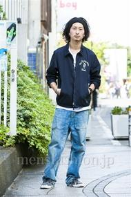 ファッションコーディネート原宿・表参道 2014年10月 松金祐大さん