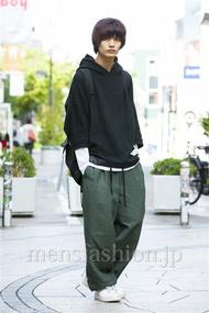 ファッションコーディネート原宿・表参道 2014年10月 長坂睦生さん