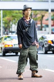 ファッションコーディネート原宿・表参道 2014年10月 シュンスケさん