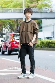 ファッションコーディネート原宿・表参道 2014年10月 アンドウコウイチさん