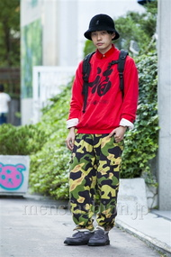 ファッションコーディネート原宿・表参道 2014年10月 井上貴弘さん