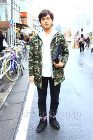 ファッションコーディネート都内 2014年11月 Naotoさん