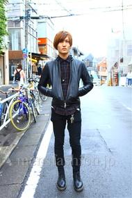 ファッションコーディネート都内 2014年11月 アカギさん