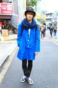 ファッションコーディネート 2014年11月 松岡雅士さん