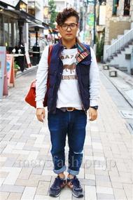 ファッションコーディネート 2014年11月 ショウタロウさん