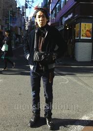 ファッションコーディネート都内 2014年11月 齋藤匠さん