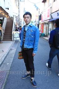 ファッションコーディネート都内 2014年11月 ターさん