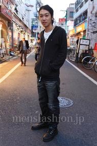 ファッションコーディネート都内 2014年11月 ハヤトさん