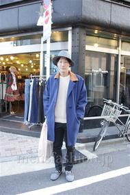 ファッションコーディネート都内 2014年12月 リョウタさん