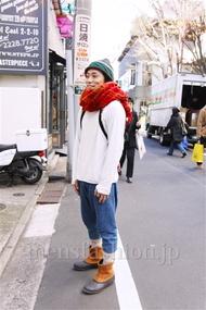 ファッションコーディネート都内 2014年12月 いも兄さん