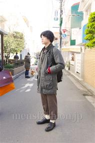 ファッションコーディネート都内 2014年12月 ヒロさん