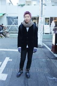 ファッションコーディネート都内 2014年12月 大和田良紀さん