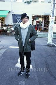 ファッションコーディネート都内 2014年12月 りょーまさん