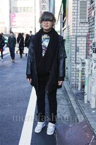 ファッションコーディネート都内 2014年12月 こおちさん