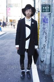ファッションコーディネート都内 2014年12月 ユーシンさん
