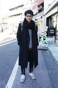 ファッションコーディネート都内 2014年12月 Kさん