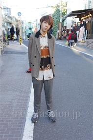 ファッションコーディネート都内 2014年12月 鈴木さん